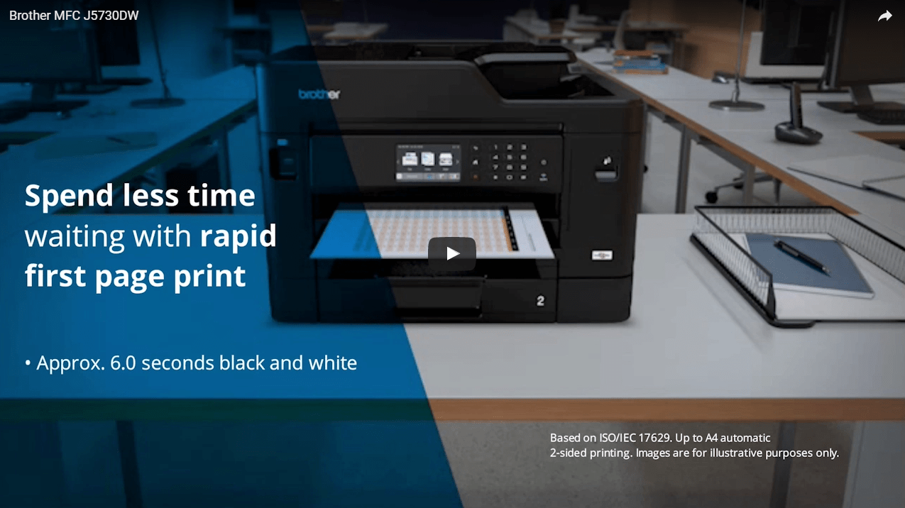 MFC-J5730DW Wireless A4 Inkjet Printer 5