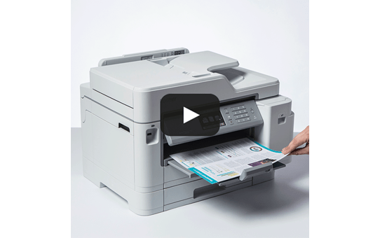 """MFC-J5945DW spalvotas belaidis rašalinis A3 formato """"4-in-1"""" spausdintuvas 7"""
