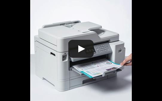 MFC-J5945DW krāsu bezvadu tīkla A3 tintes 4-in-1 printeris 7