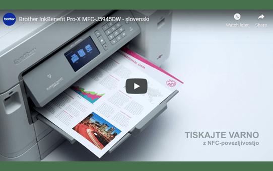 MFC-J5945DW brezžična A3 barvna brizgalna večfunkcijska naprava za tiskanje, kopiranje, skeniranje in faksiranje* 7