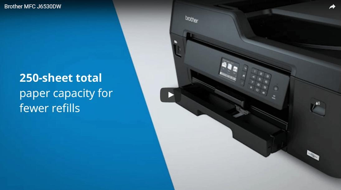 MFC-J6530DW All-in-one Wireless Inkjet 5