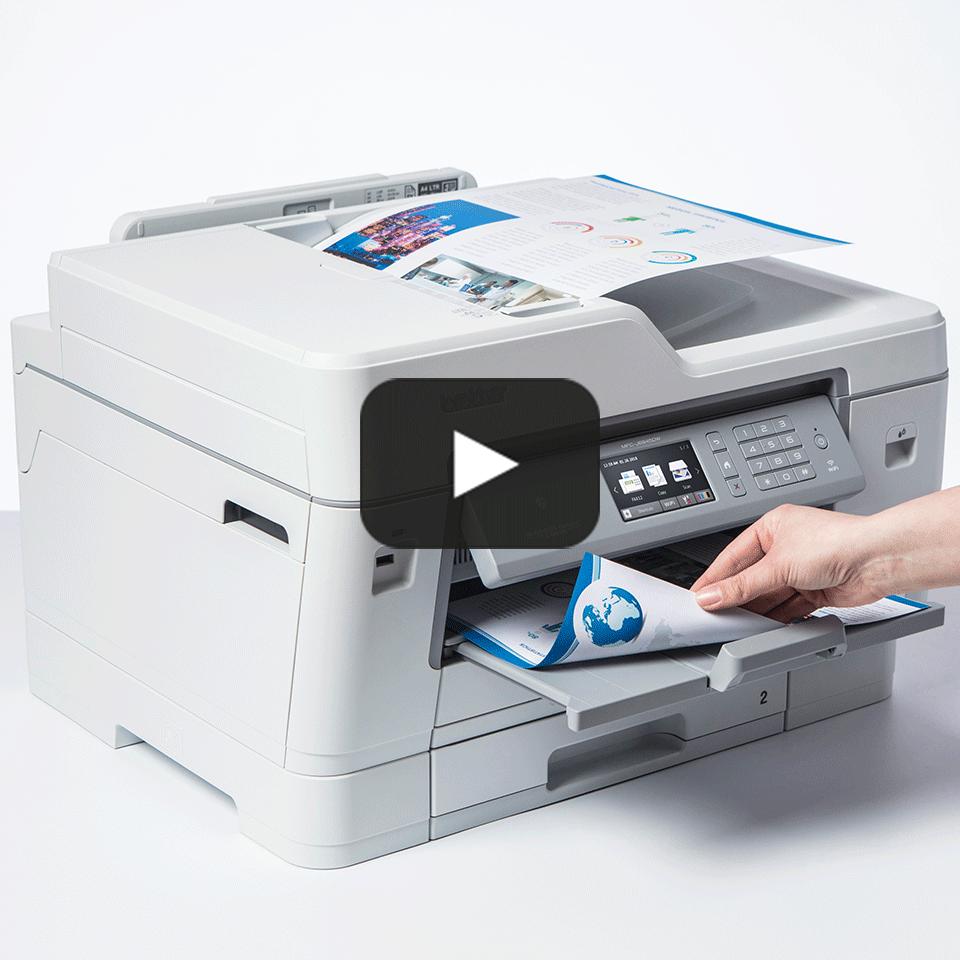 MFC-J6945DW Colour Wireless A3 Inkjet 4-in-1 Printer 7