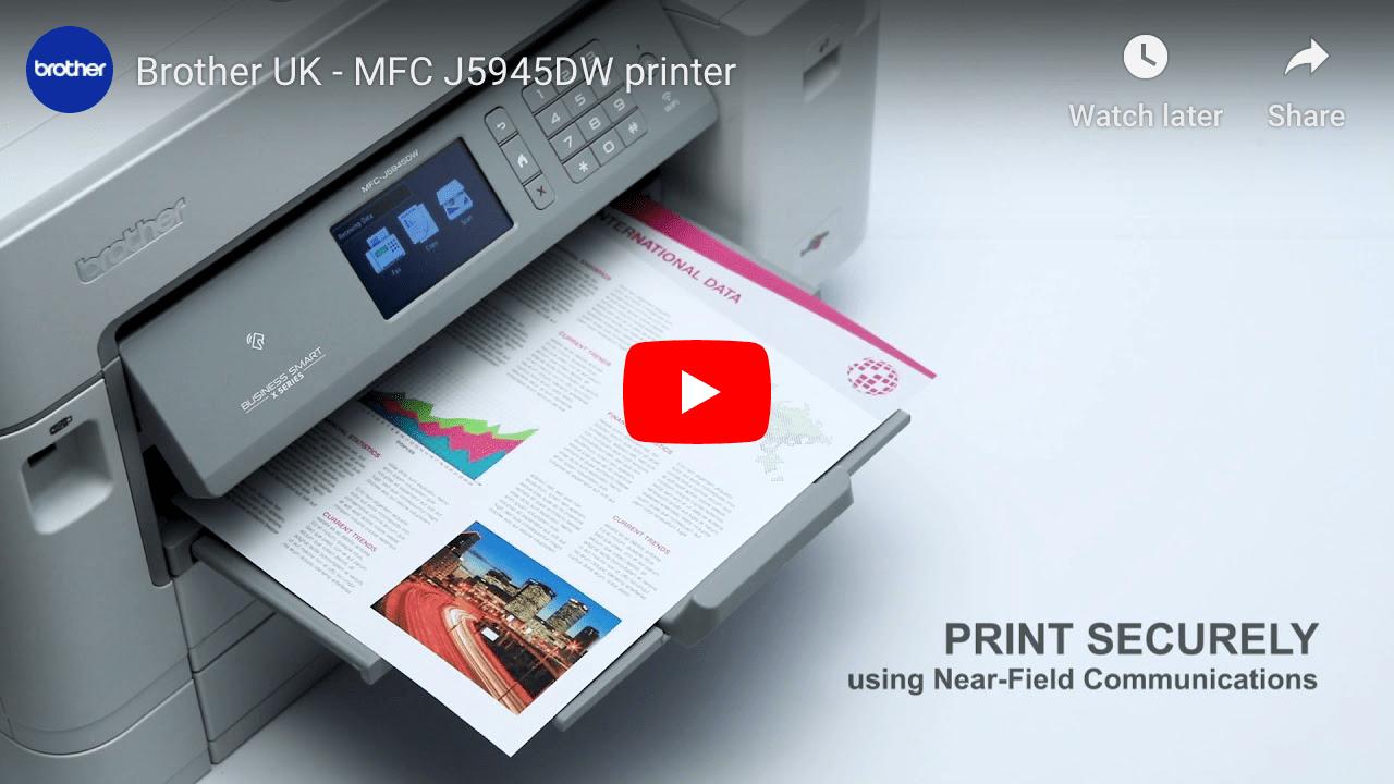 MFC-J6945DW Imprimante jet d'encre couleur A3 4-en-1 sans fil 7