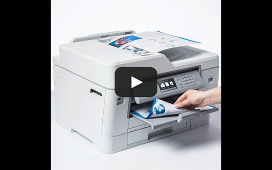 """MFC-J6945DW spalvotas belaidis A3 formato rašalinis """"4-in-1"""" spausdintuvas 7"""