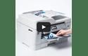 MFC-J6945DW krāsu bezvadu tīkla A3 tintes 4-in-1 printeris 7