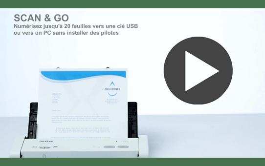 ADS-1200 scanner compact pour le petit bureau 9