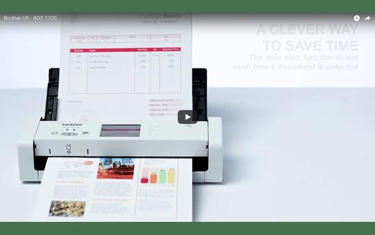ADS-1700W Scanner de documents compact et intelligent 9