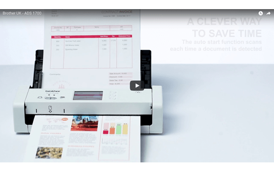 ADS-1700W Wireless, Compact Document Scanner 9