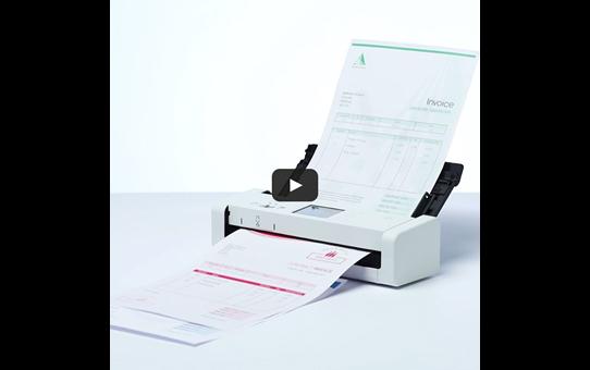 ADS-1700W scanner compact WiFi pour le petit bureau 10