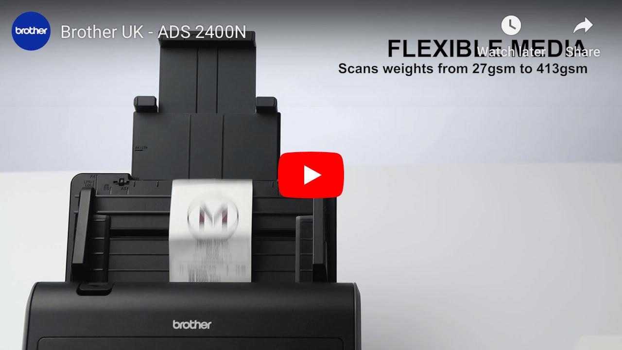ADS-2400N Network Desktop Scanner 9