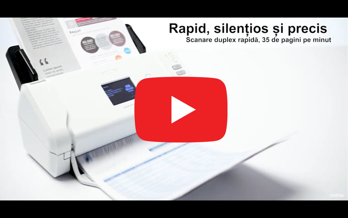 Scanner de documente wireless Brother ADS-2700W 12