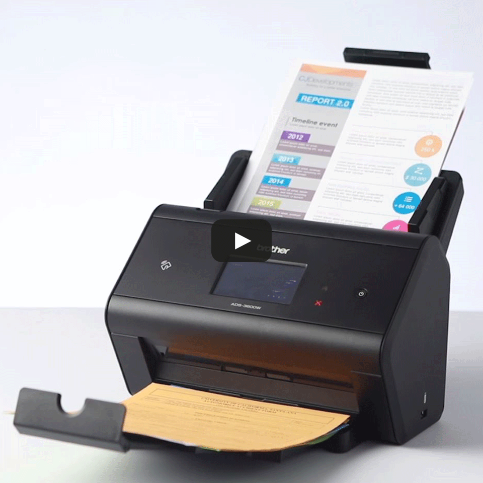 ADS-3600W Bezdrôtový profesionálny skener dokumentov 7