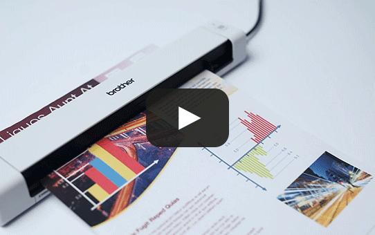 Przenośny skaner dokumentów Brother DSmobile DS-640 6
