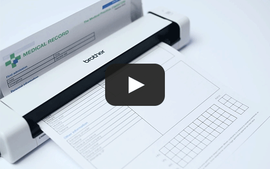 DS-740D - dwustronny skaner dokumentów Brother z serii DSmobile  7