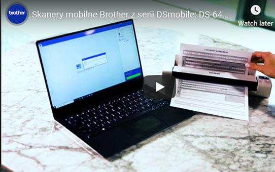 DS-740D - dwustronny skaner dokumentów Brother z serii DSmobile  8