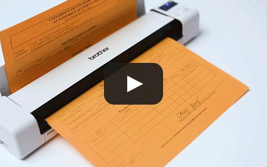 Brother DSmobile DS-940DW, trådlös, dubbelsidig, bärbar dokumentskanner 8