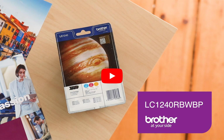 Origineel Brother LC-1240RBWBP inktcartridge  voordeelpak  6