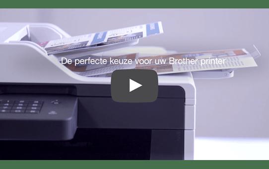 Originele Brother LC-1100HYBK zwarte inktcartridge met hoge capaciteit 4