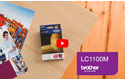Genuine Brother LC1100M Ink Cartridge – Magenta 5