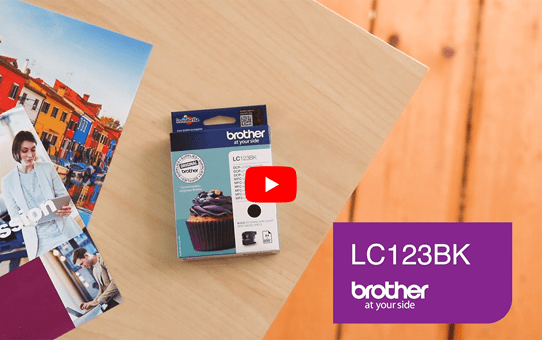 Genuine Brother LC123BK Ink Cartridge – Black 5