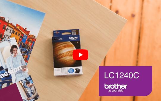 Cartouche d'encre LC1240C Brother originale – Cyan 5