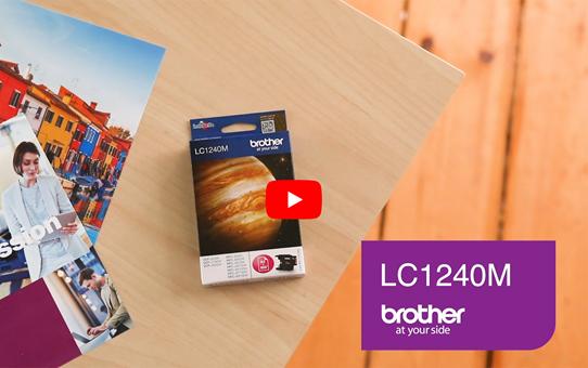 Genuine Brother LC1240M Ink Cartridge – Magenta 5