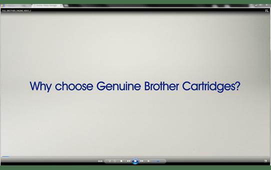 Genuine Brother LC1280XLC High Yield Ink Cartridge – Cyan 3