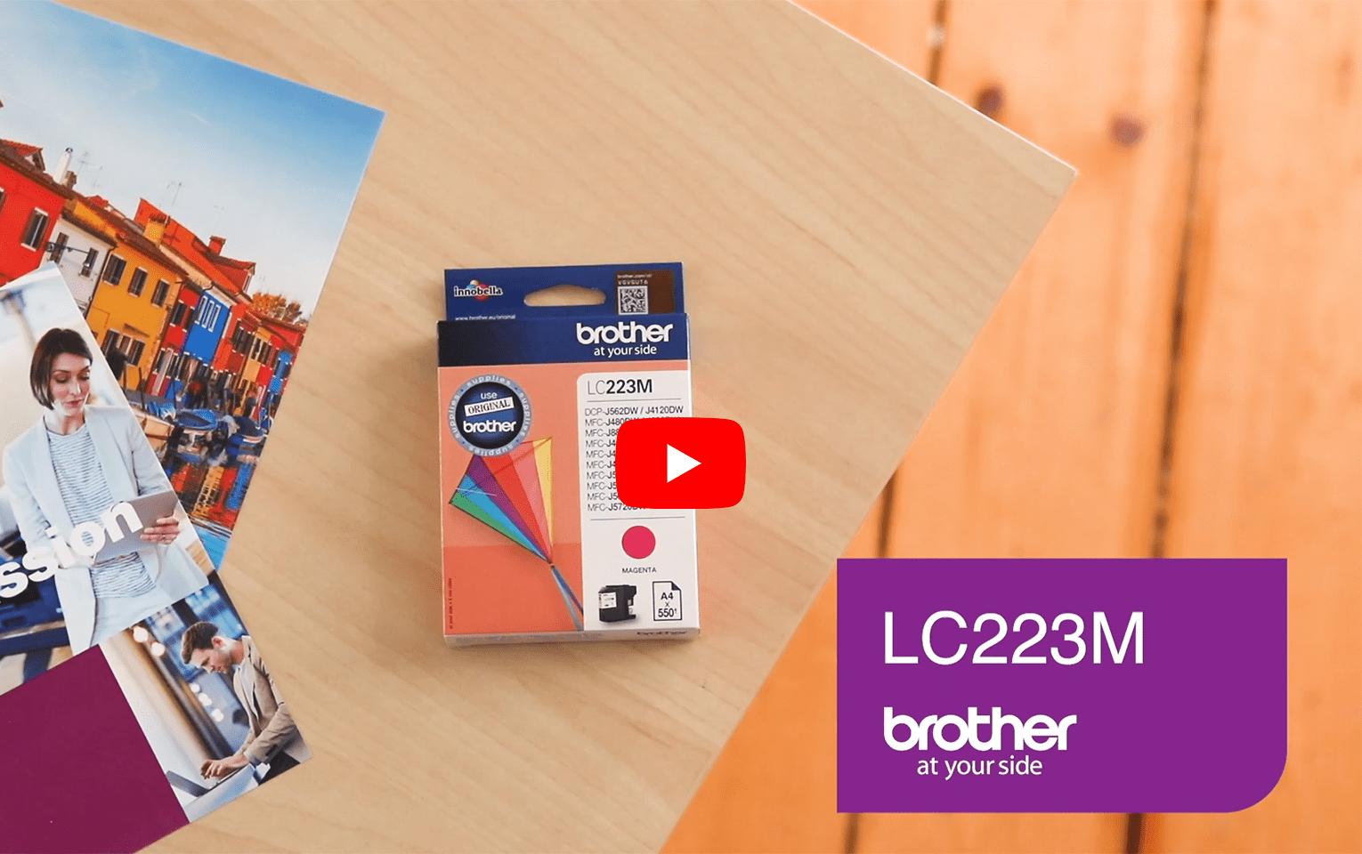 Brother LC223M Cartuccia inkjet originale - magenta 5