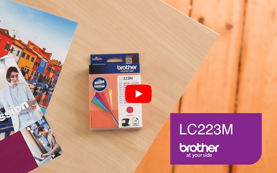 Brother LC223M cartouche d'encre magenta 5