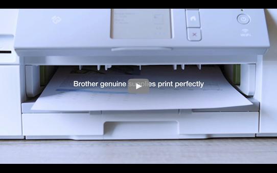 Genuine Brother LC22UBK Ink Cartridge – Black 4