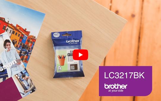 Originele Brother LC-3217BK zwarte inktcartridge 5