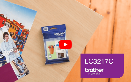 Brother LC3217C cartouche d'encre cyan 5
