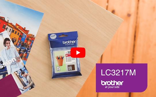 Genuine Brother LC3217M Ink Cartridge – Magenta 5