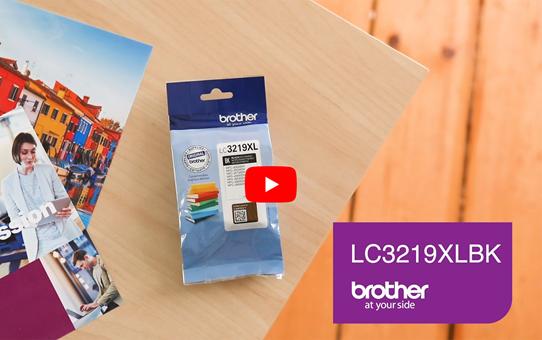 Brother LC3219XLBK Cartuccia inkjet originale XL - nero 5
