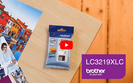 Brother LC3219XLC cartouche d'encre cyan 5