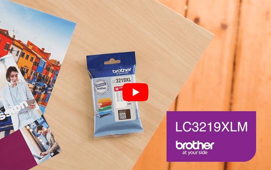 Cartouche d'encre LC3219XLM Brother originale – Magenta 5
