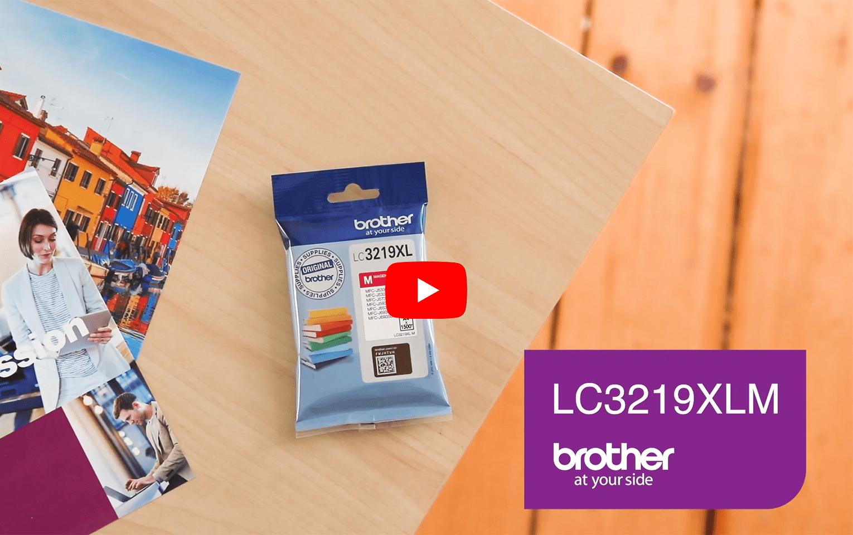 Genuine Brother LC3219XLM Ink Cartridge in Magenta 5