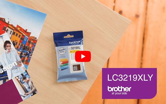 Brother LC3219XLY inktpatroon geel 5