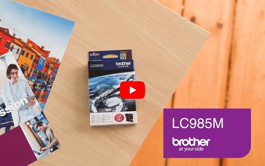 Originele Brother LC-985M magenta inktcartridge 5
