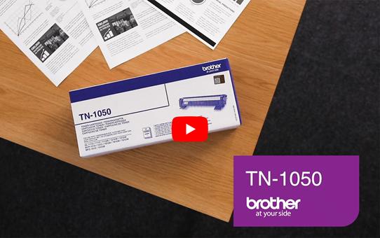 Brother TN1050 toner zwart 5