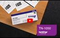 Cartouche de toner TN-1050 Brother originale – Noir 5
