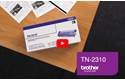Cartouche de toner TN-2310 Brother originale – Noir 5