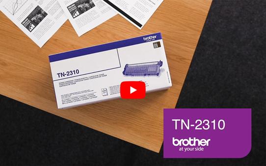 Brother TN2310 toner noir - rendement standard 5