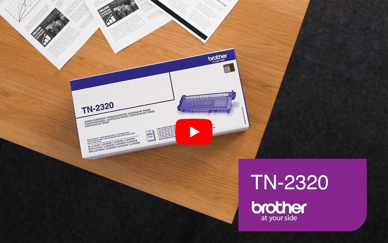 Brother TN2320 toner noir - haut rendement 5