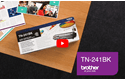 TN-241BK toner noir - rendement standard 5