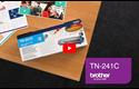 Genuine Brother TN241C Toner Cartridge – Cyan 5