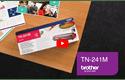 TN-241M toner magenta - rendement standard 5