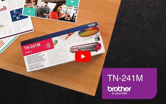 Genuine Brother TN-241M Toner Cartridge – Magenta 5