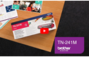 Brother TN-241M Toner standard originale - magenta 5