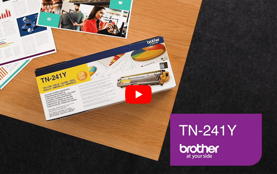 Brother TN241Y toner geel - standaard rendement 5